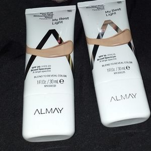 B1G1 Almay #100 Pale foundation*unopened*